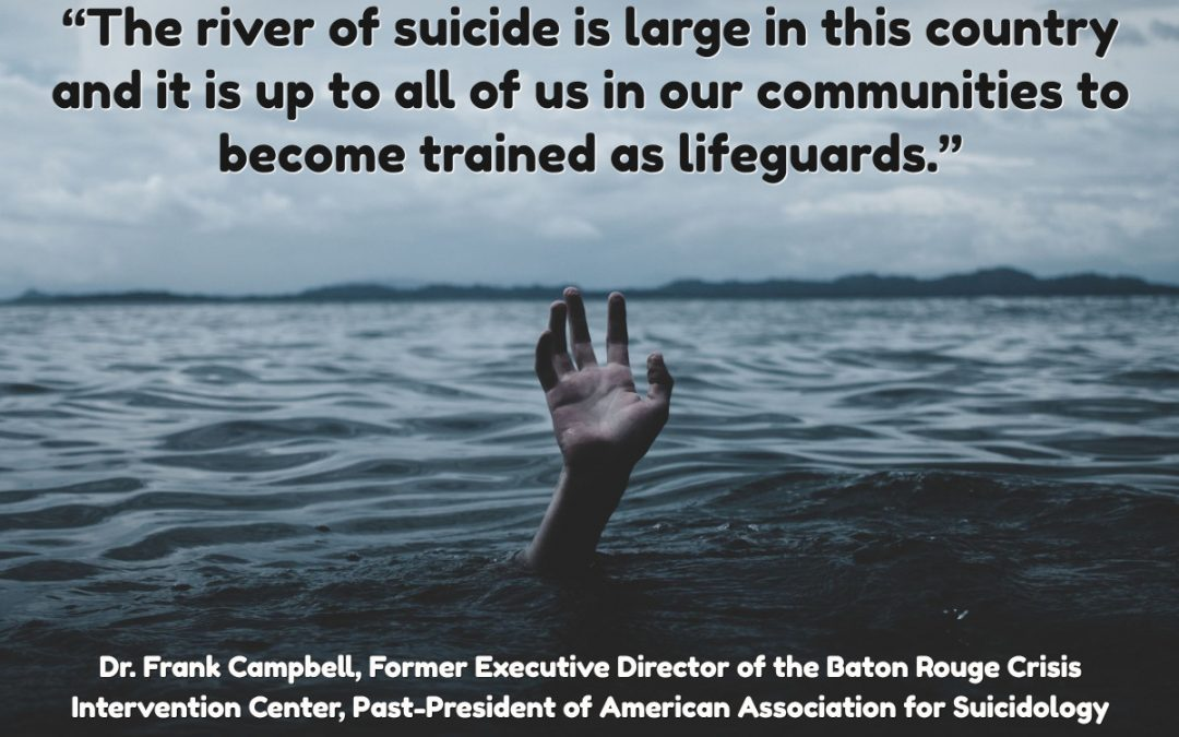 Suicide Is The Number One Mental Health Emergency- Do Professionals Have What it Takes to Prevent Rising Tide of Suicide?